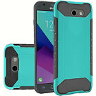 For Samsung J3 Prime Emerge Mission Eclipse 2017 QH Slim Hybrid Cover Case