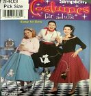 Simplicity Sewing Pattern 5403 Ladies 14-22 Poodle Full Character Skirt