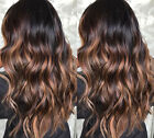 Virgin Glueless Brazilian Remy Human Hair Wig Ombre Lace Front /Full Lace Wigs