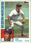 1984 Topps Baseball Card Pick 1-254