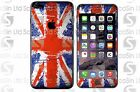 Great Britain Flag iPhone 5/5C/5S 6/6Plus 6S/6S Plus 7/7Plus Wrap Decal Skin