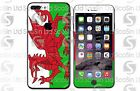 Welsh/ Wales Flag iPhone 5/5C/5S 6/6Plus 6S/6S Plus 7/7Plus Wrap Decal Skin