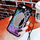 Bling Glitter Diamond Mirror 3D Sparkle Water Quicksand Case Cover For iPhone
