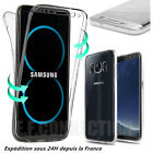 Coque 360 FULL Silicone Pour Samsung S6 S7 S8 PLUS S9 S10 20 Note 8 9 10 A21s 51
