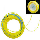 125FT Spey Fly Line WF6/7/8/9/10F 2 Welded Loops Yellow/Blue Saltwater Fishing
