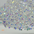 Crystal Pixie 3D Nail Art Rhinestone 1.2mm Clear AB Mini Strass Beads Charms