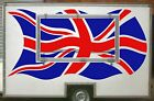 Large UK Flag Catering Trailer Stickers/Vinyl Graphics, Burger Van Decal