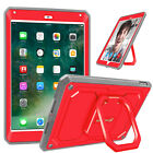 "For New iPad 2017 9.7"" / Air 2 Case Rotating Grip Stand Shockproof Carry Cover"
