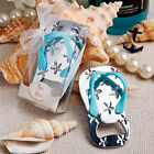 Beach Themed Flip Flop Bottle Openers - Wedding Party Favors - 20-100 Qty