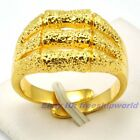 Size 8,8.5,9,9.5,10,10.5,11,11.5,12 Ring REAL RARE 18K YELLOW GOLD GP SOLID FILL