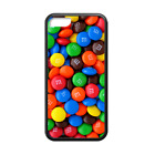 Colorful Chocolate Candies m&m Back Case Cover for iPhone 8 8+ 7 Plus 6 6+ 5S 5C