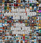 Action & Adventure DVD Lot #7: 245 Movies to Pick From! Buy Multiple And Save! $2.99 USD