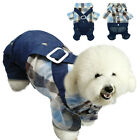 Dog Clothes Costume Jeans Jacket Coat Puppy Cat Costumes Apparel Summer S-XXL