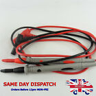 20A Universal Hot Multimeter Lead Pen Test Ultra Fine Pin Probe Needle Tip 1000V