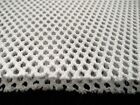 White Spacer fabric 9mm thick, 100% Polyester