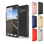 360° Protective Slim Case + Tempered Glass Screen For Samsung Galaxy Note 5 4 3
