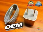 NEW OEM APPLE iPHONE 6 Plus 5 5S 5C CUBE AC WALL CHARGER  LIGHTNING CABLE A1385