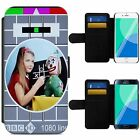 Vintage BBC Test Card Retro Picture Flip Phone Case Wallet Cover iPhone Samsung
