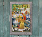 Canadian Pacific Cruises - Vintage Travel Poster [6 sizes, matte+glossy avail]
