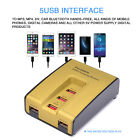 Portable 5-Port USB  Charger Station Fast Charging Stand Dock Adapter For iPhone