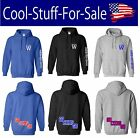 """Chicago Cubs """"Fly The W Go Cubs Go"""" Baseball Pullover Hooded Sweatshirt on Ebay"""