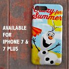 Disney Frozen Olaf Beach Towel for iPhone 7 & 7 Plus Case Cover