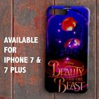 Disney Beauty And The Beast Rose for iPhone 7 & 7 Plus Case Cover