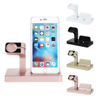 Desktop Charging Dock Stand Charger 2 in1 For Watch Apple iPhone 7/7 Plus