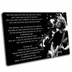 Ed Sheeran Canvas Lyrics Wall Art Print Framed Picture 1 PREMIUM QUALITY TAB