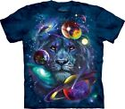 The Mountain Unisex Child Lion of Cosmos Space Animal TShirt