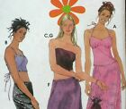 Simplicity Sewing Pattern 9472 Ladies 3-10 Retro Lace Up Top Skirt Uncut