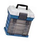 Plano 1364 4-By Rack System 3650 Size Tackle Box Fishing Storage Utility Box NEW