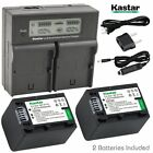 NP-FV70 Battery& Fast Charger for Sony HDR-CX350V CX360V ...