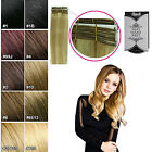 "Rush Silky Luxati Straight Remy 100% Human Hair Extensions Weft in 14"" 18"" & 20"""