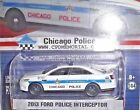 greenlight HOT PURSUIT CHICAGO IL POLICE 2013 FORD Taurus SHO SQUAD 8797 PROMO
