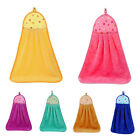 Bathroom Kitchen Absorption Hand Soft Plush Hanging Wipe Bathing Towel Finest