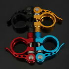 Newest 1PCS 31.8mm Bike Bicycle Cycling Saddle Seat Post Clamp Quick Release