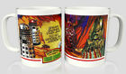 Doctor Who Mugs - FREE BADGE - Retro 1977 Weetabix Collection Designs