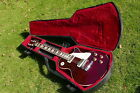 Gibson Les Paul Deluxe (1978) Wine Red vintage electric guitar | chainsaw case