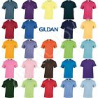 Gildan Mens Womens Heavy 100% Cotton Plain Blank T-Shirt - 38 Colours