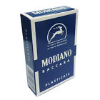 Baccara 15 Blue Fondo Neutro Solid Back Color 54 Playing Cards Baccarat Modiano
