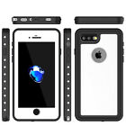 2M Waterproof Case For iPhone 7 8 Plus Dust-Proof Snow-Proof Shock-Proof 7Ft