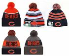 Chicago Bears Cuffed Beanie Knit Winter Cap Hat NFL Authentic