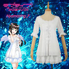 Love Live! Sunshine!! Angel Unawaken Kurosawa Dia White Dress Cosplay Costume