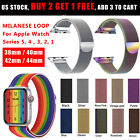 Milanese Loop Band iWatch Strap For Apple Watch Series 5 4 3 2 1 44/42/40/38mm image
