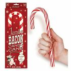 """Jumbo 10.25"""" Bacon Flavored Candy Cane"""