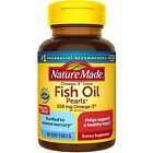 Nature Made FISH OIL PEARLS 550mg - 90 Softgels - exp 08/21