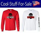 Detroit Red Wings Hockey Long Sleeve Shirt $30.39 USD on eBay
