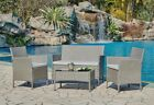 Garden Furniture Set Conservatory Patio Outdoor Table Chairs Sofa Cover Option