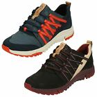 Ladies Clarks Tri Trail Textile & Leather Casual Lace Up Trainer Shoes D Fitting
